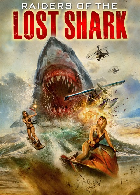 Raiders of the Lost Shark movie poster