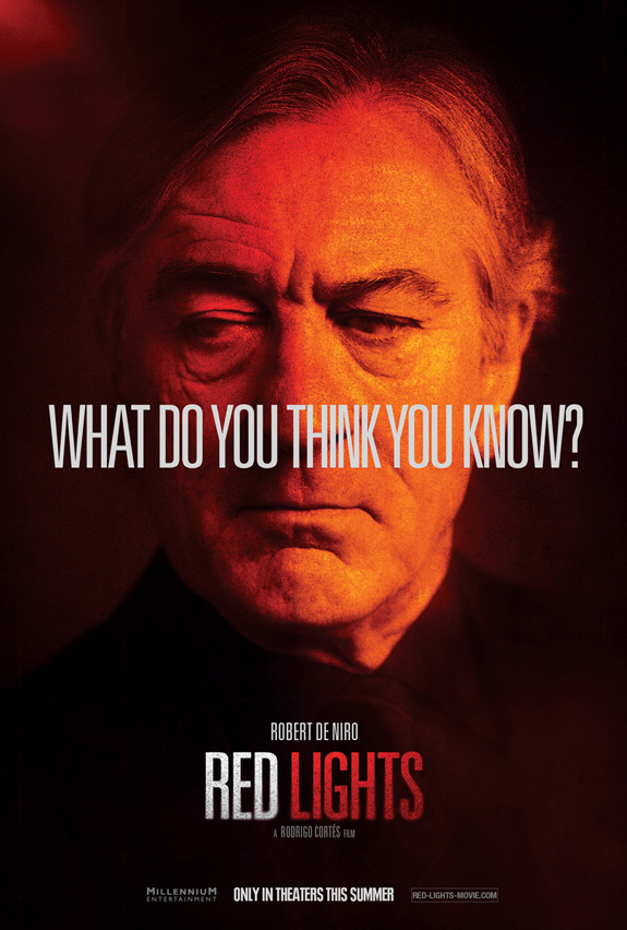 Red Lights Character Poster
