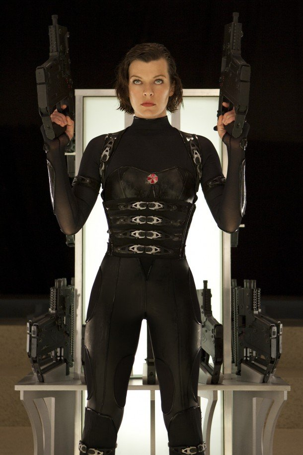Resident Evil Retribution 3D has Alice Milla Jovovich ready to kill zombies