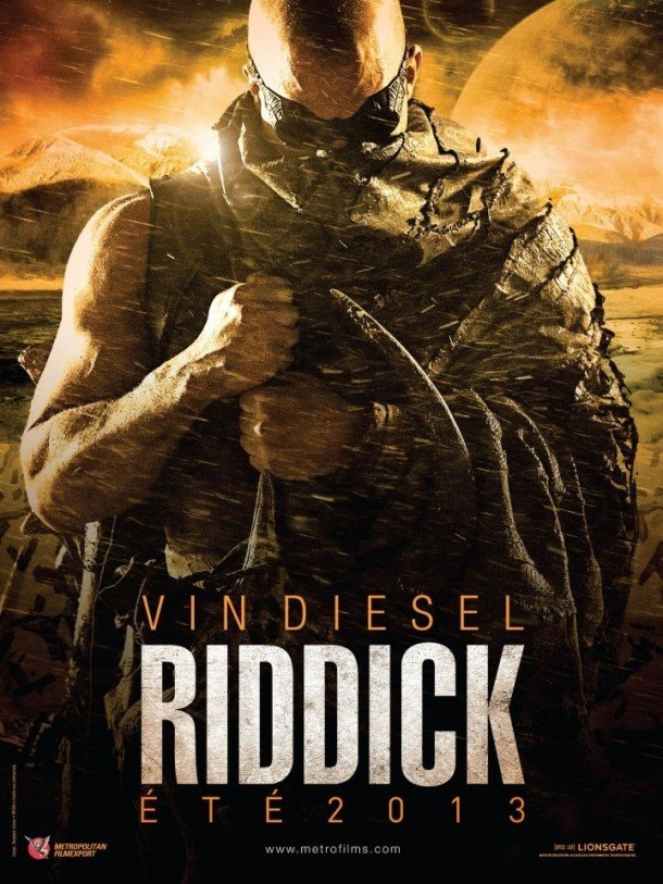 Vin Diesel Riddick French movie poster