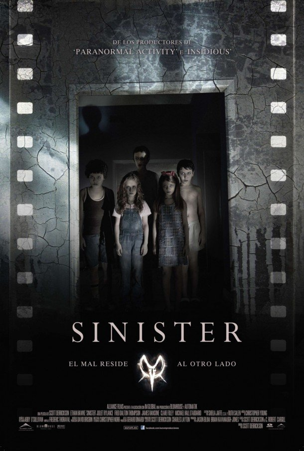 Scott Derricksons Sinister International Poster