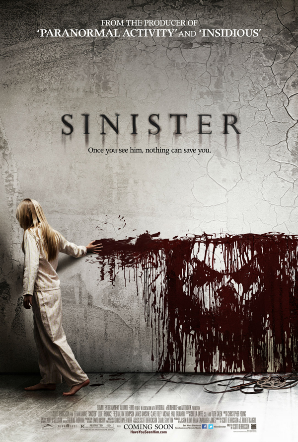 Scott Derrickson Sinister Movie Poster