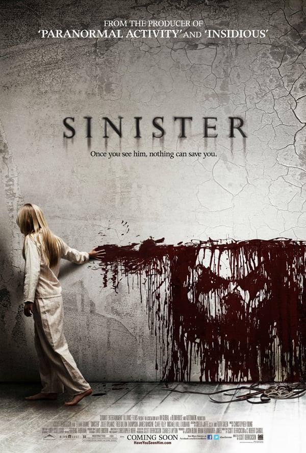 Scott Derrickson Sinister Movie Poster