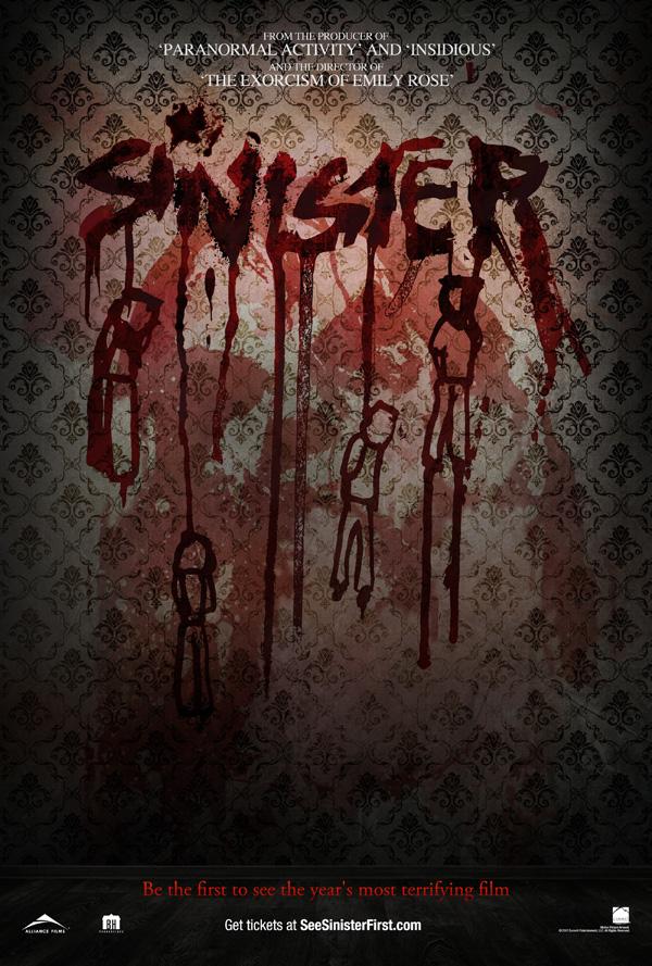 new Sinister Poster horror movie