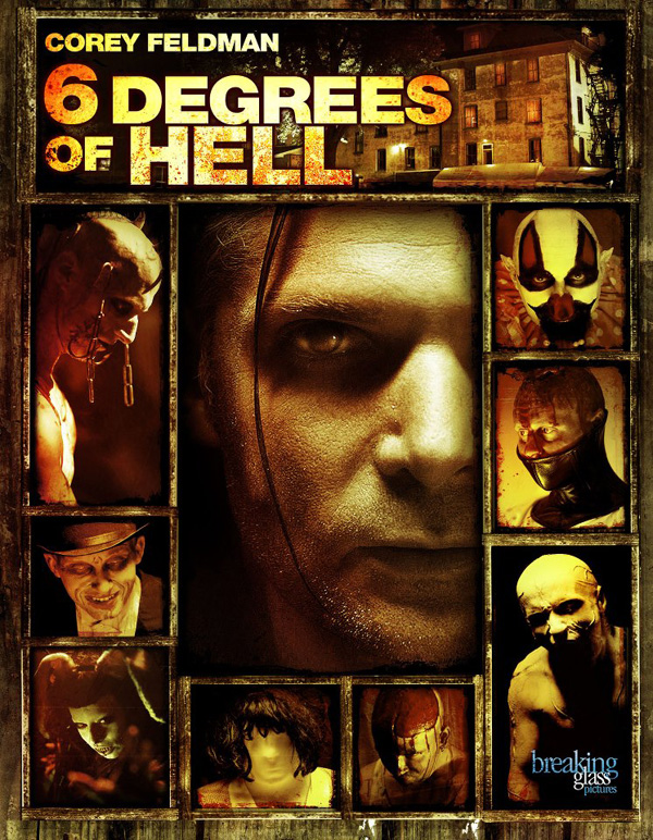 Six Degrees of Hell horror movie dvd art poster