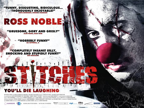 Stitches the killer clown official UK movie poster