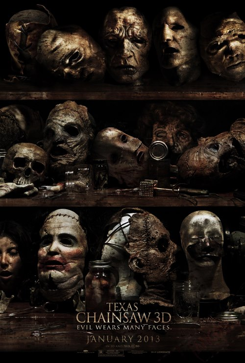 Texas Chainsaw Massacre 3D Teaser Poster