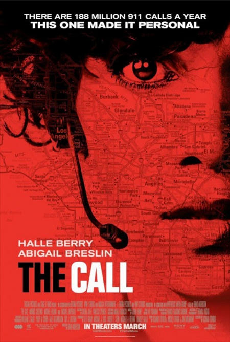 The Call Halle Berry Official One Sheet Poster