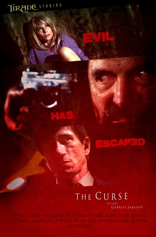 upcoming movie The Curse movie poster