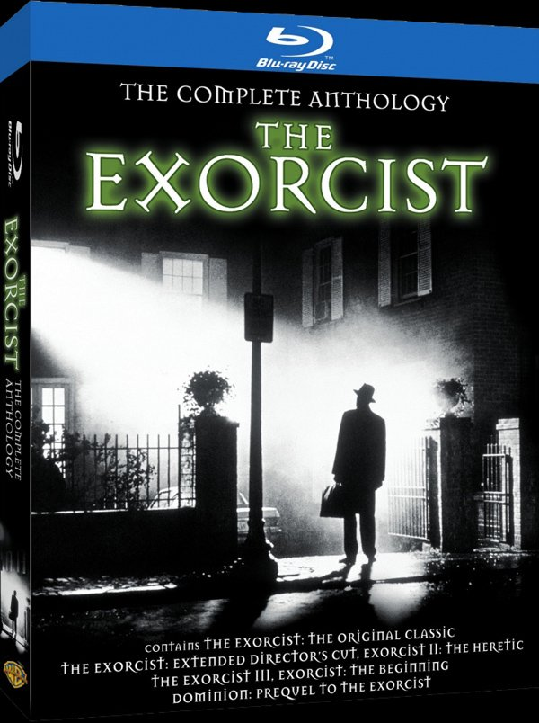 The Exorcist: The Complete Anthology Blu-ray cover art