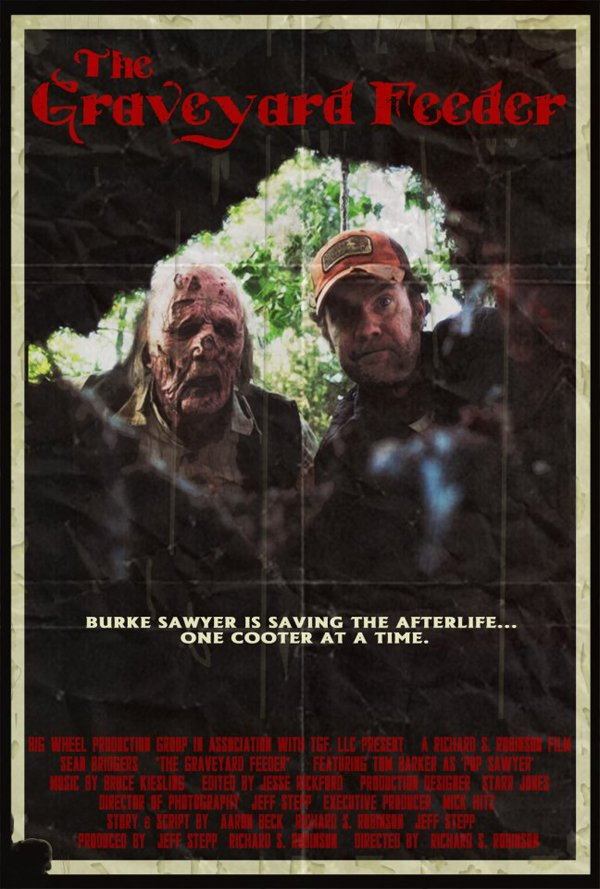 The Graveyard Feeder horror movie poster