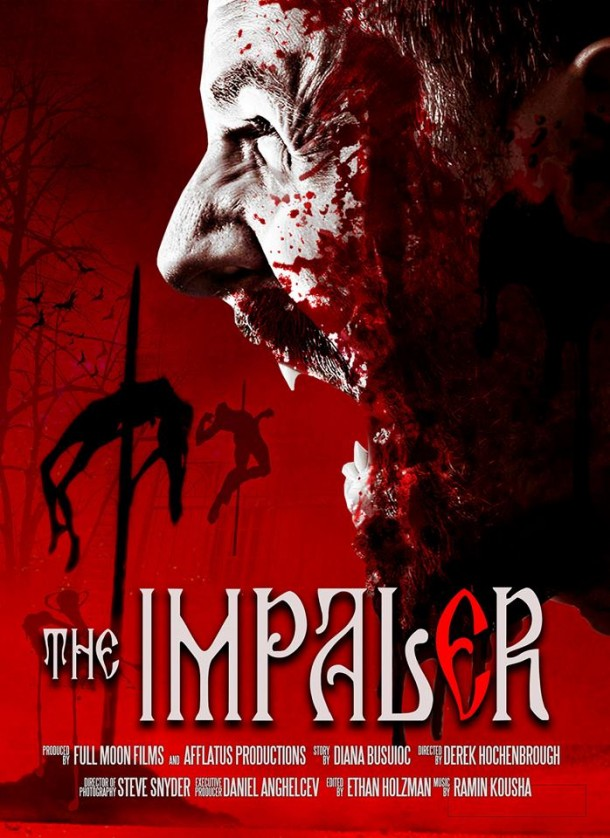Full Moon and Derek Hockenbrough The Impaler Movie Poster