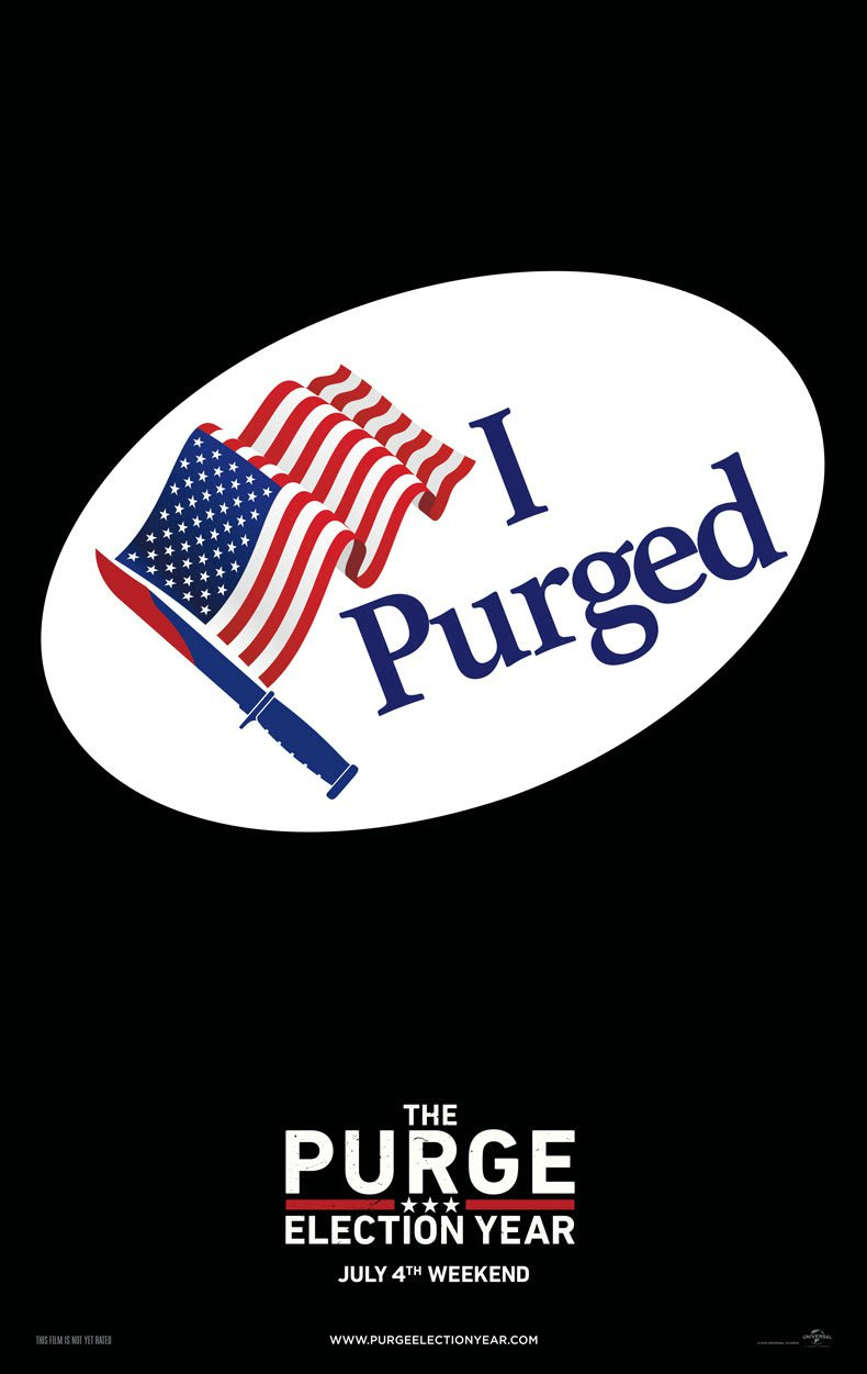 The Puge: Election Year (2016) movie poster