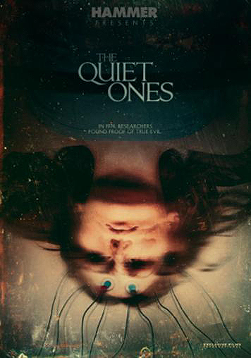 Liongate The Quiet Ones Ghosts Horror Movie Poster