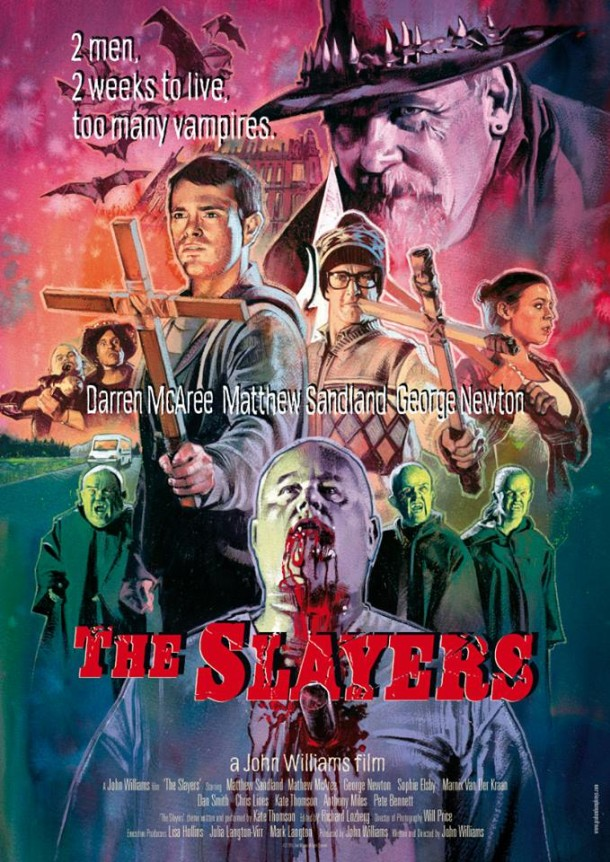 The Slayers (2015) poster