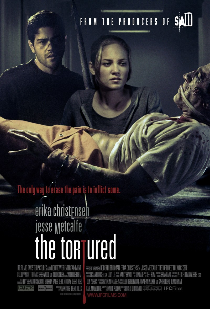 The Tortured movie poster