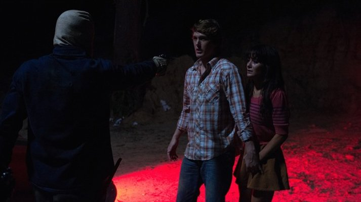 The Town that Dreaded Sundown Remake - Masked Killer and victims still
