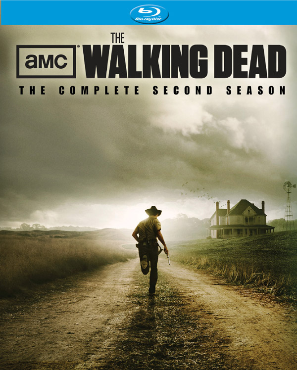 The Walking Dead Season 2 Blu-ray Cover Art
