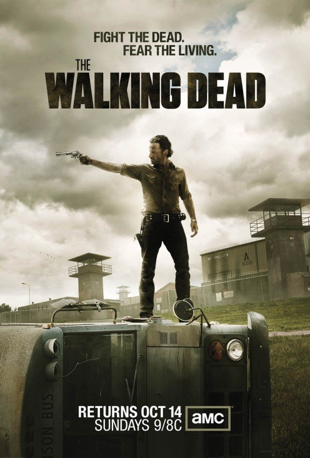 The Walking Dead Season 3 official poster Rick Grimes