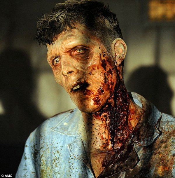 AMC The Walking Dead season 3 zombie photos