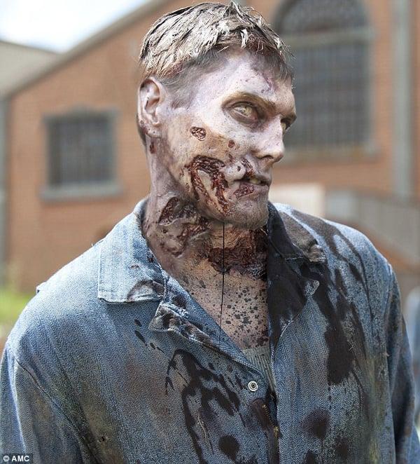 AMC The Walking Dead season 3 zombie photos