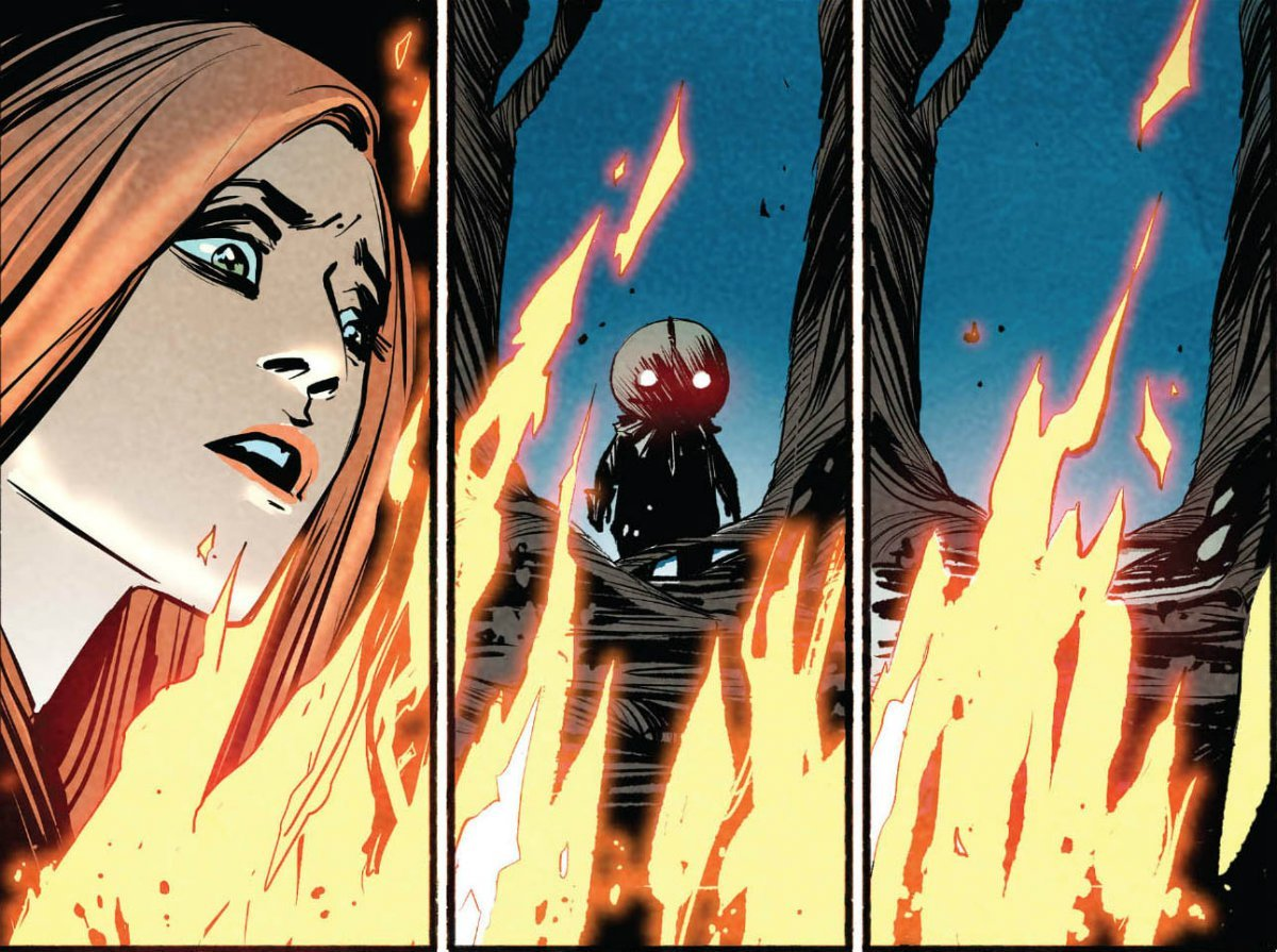 Trick R Treat Graphic Novel Preview Page