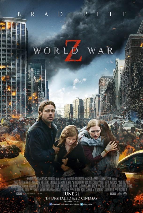 World War Z - Brad Pitt Zombie Horror Movie