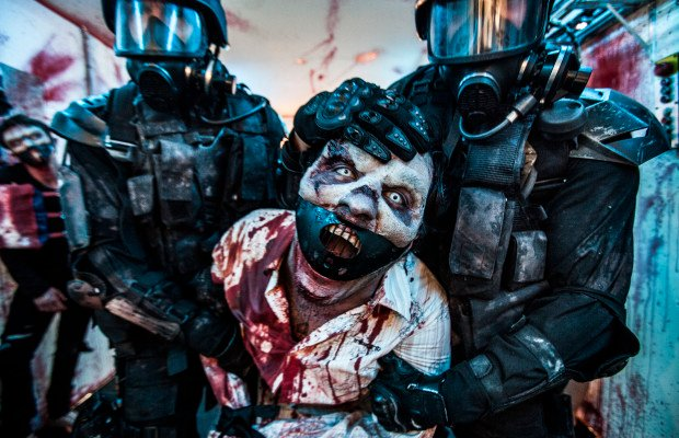 Wyrmwood (2014) zombie movie still 2