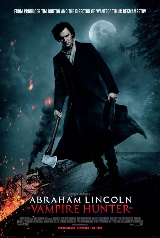 Abraham Lincoln Vampire Hunter UK Poster