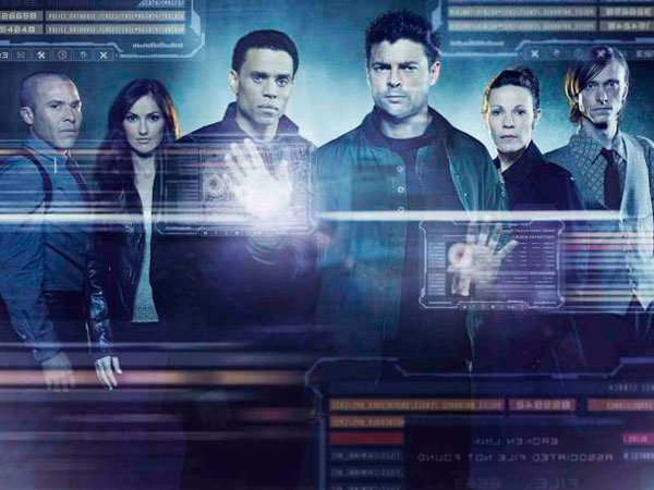 Karl Urban Almost Human TV series cast pic