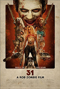 Rob Zombies 31 (2016) poster