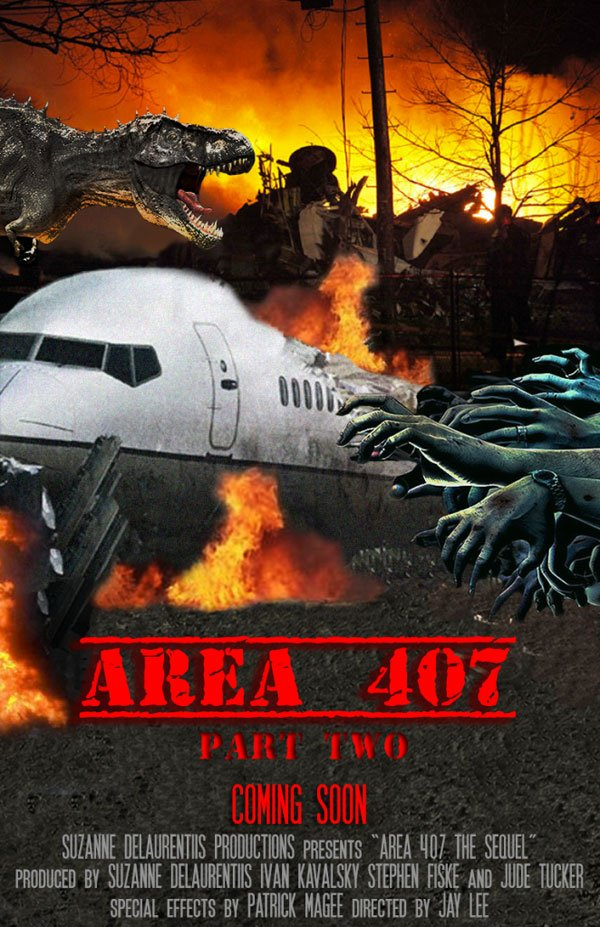 Area 407: Part 2 Concept Poster Art