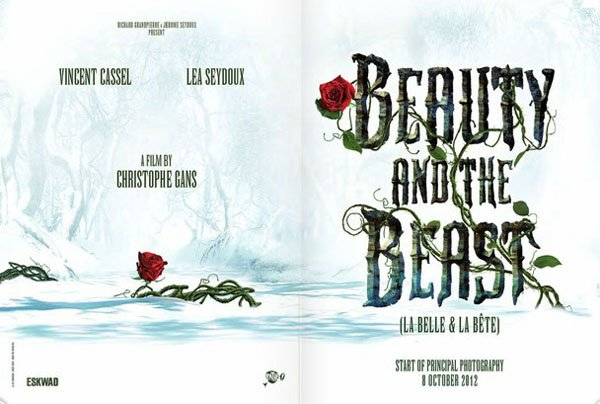 Christophe Gans Beauty and the Beast Promo Art