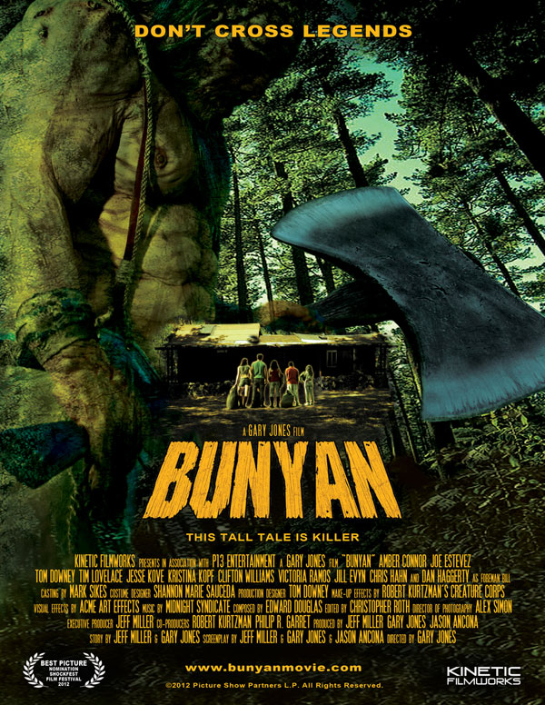 Bunyan Horror Movie Poster