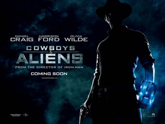 Cowboys vs Aliens poster 5