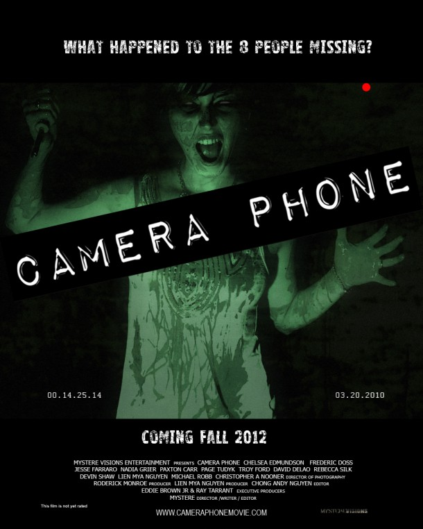 Camera Phone Horror Film Poster
