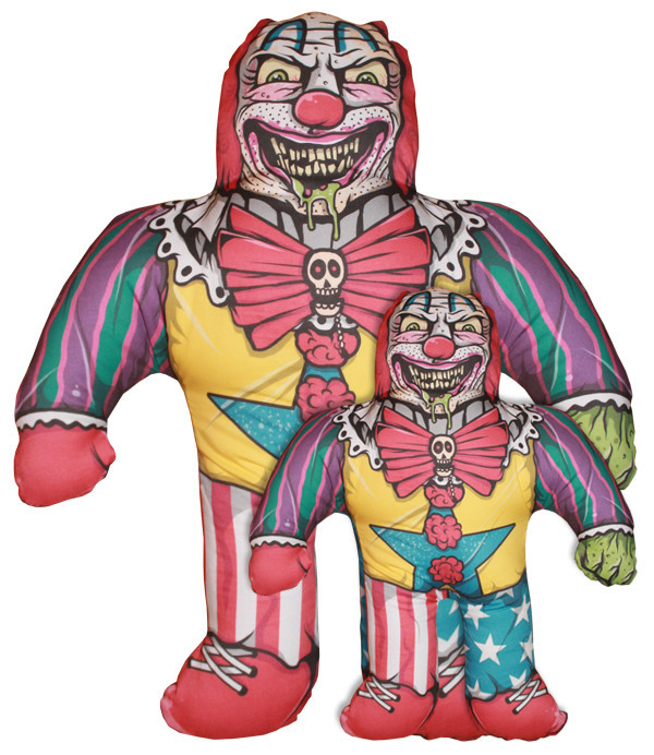 Clown Pillow Horror Decor