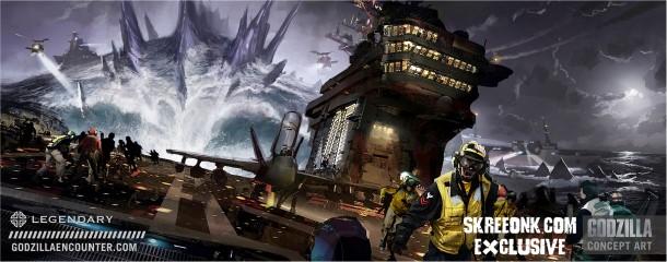 Comic Con Godzilla Concept Art