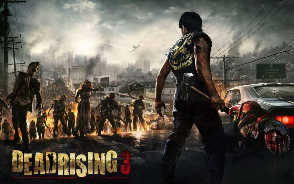 Dead Rising Game Cover Art