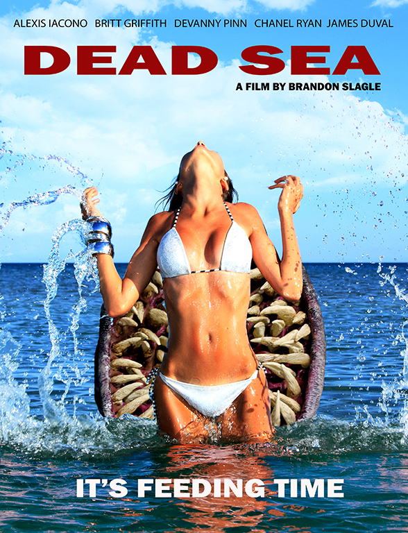 Brandon Slagle Dead Sea - movie poster