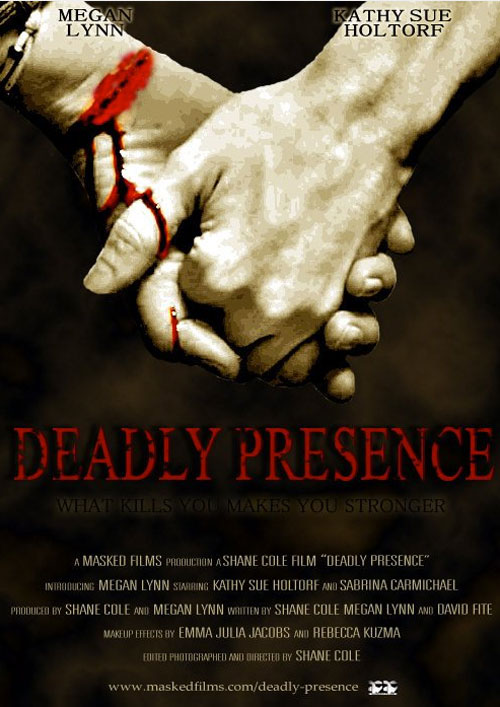 Deadly Presence Poster - Haunted House Movie