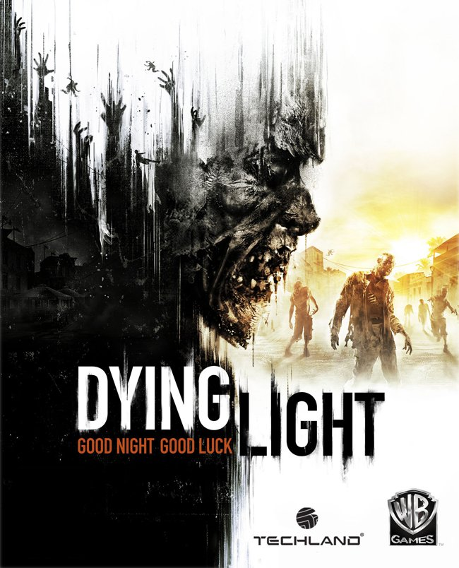 Zombie Horror Game Dying Light Game Poster