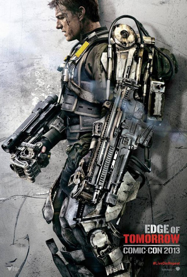 Edge of Tomorrow - Tom Cruise Poster