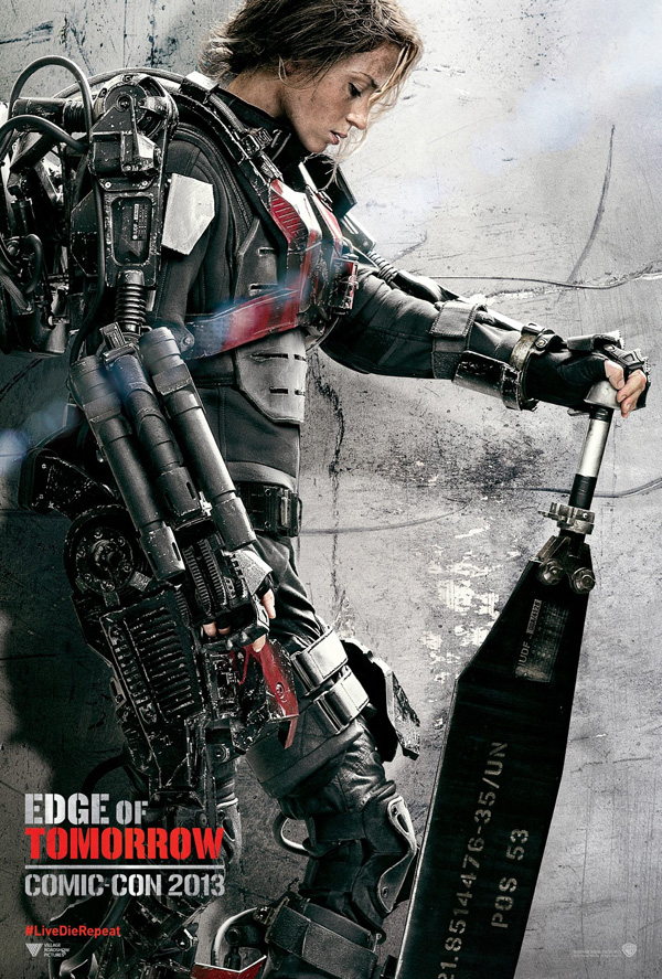 Edge of Tomorrow - Emily Blunt Poster