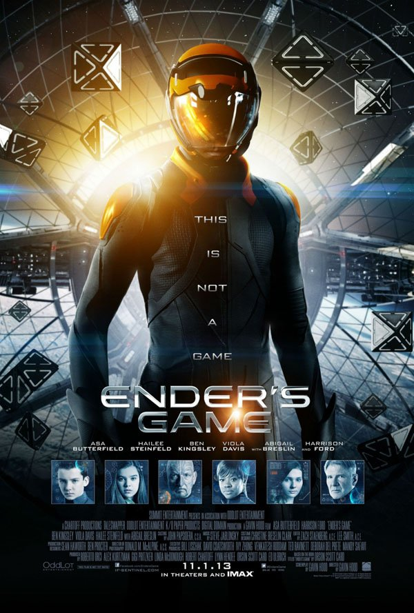 Enders Game Final One Sheet Poster Art