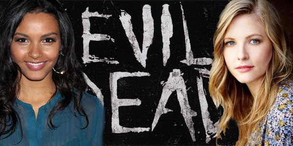 The Evil Dead Remake Jessica Lucas and Elizabeth Blackmore