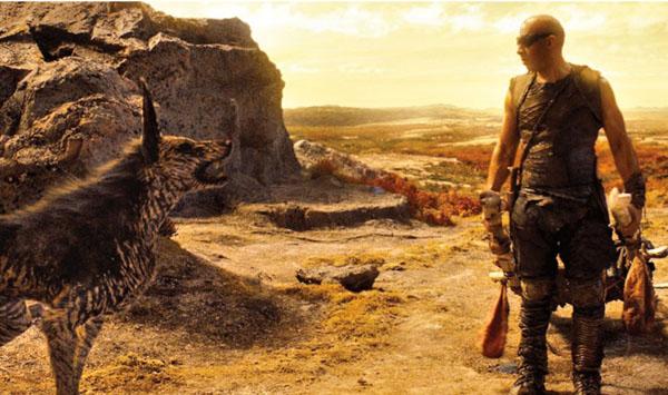 EW New Riddick Movie Still - Vin Diesel