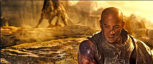 EW New Riddick Movie Still - Hunter Vin Diesel