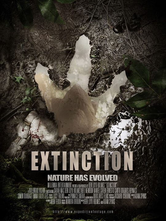 Extinction (2015) movie poster