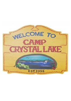 Jason Camp Crystal Lake Sign
